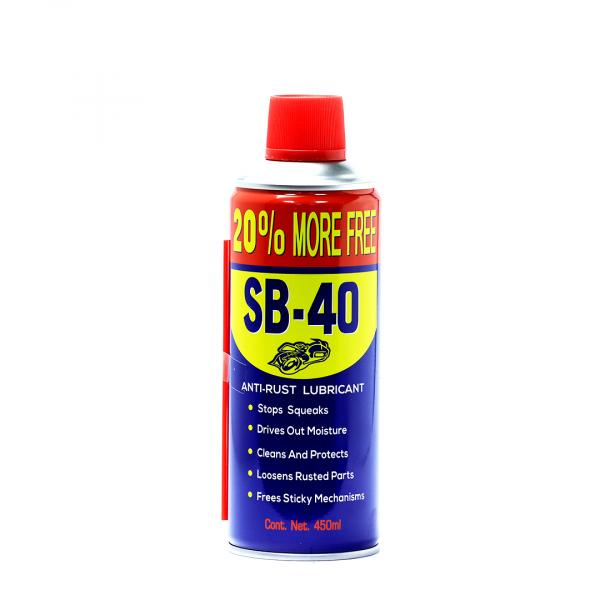 SPEEDY BEE -SB-40 - ANTI-RUST LUBRICANT OIL - 450ML