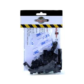 Cable Clip With 3M Adhesive - 20 PCs