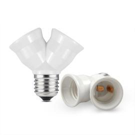 Lamp holder E27 to 2 x E27 / 25pcs / bag