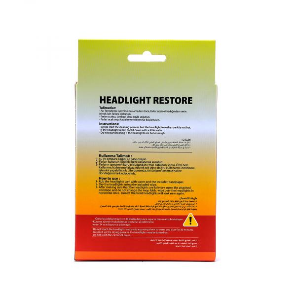 IDEALATOM - HEADLIGHT RESTORATION KIT